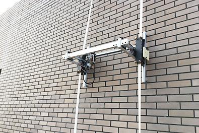 外壁点検昇降ロボット